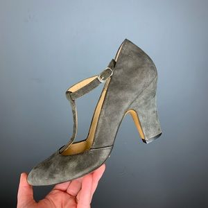 Andre Assous Suede Heels